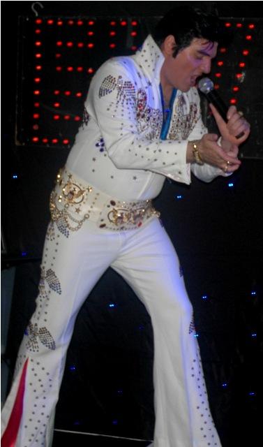 Elvis Tribute Night  Saturday 10th December 2016