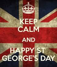 St George's Day Sat 23rd April