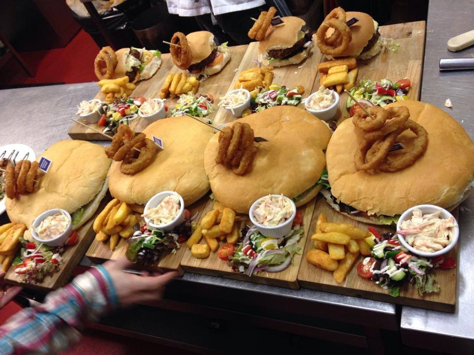 The BIG UGLY BURGER Friday Friday 15th April, 20th May, 15th July, 19th August, 16th Sept, 14th Oct & 15th Nov