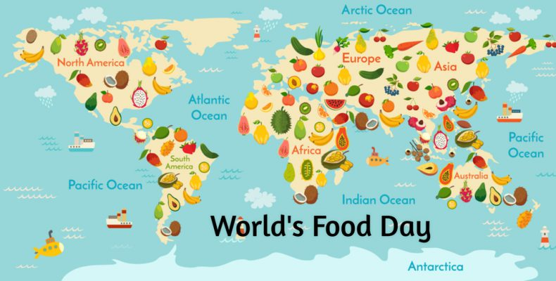 Wednesday 16th October - World Food Day